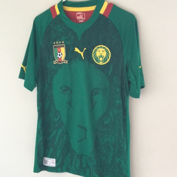 86a067c5f Authentic licensed Cameroon Puma Jersey M. M 5b8ef0d8d365be4c2cfb3b3f